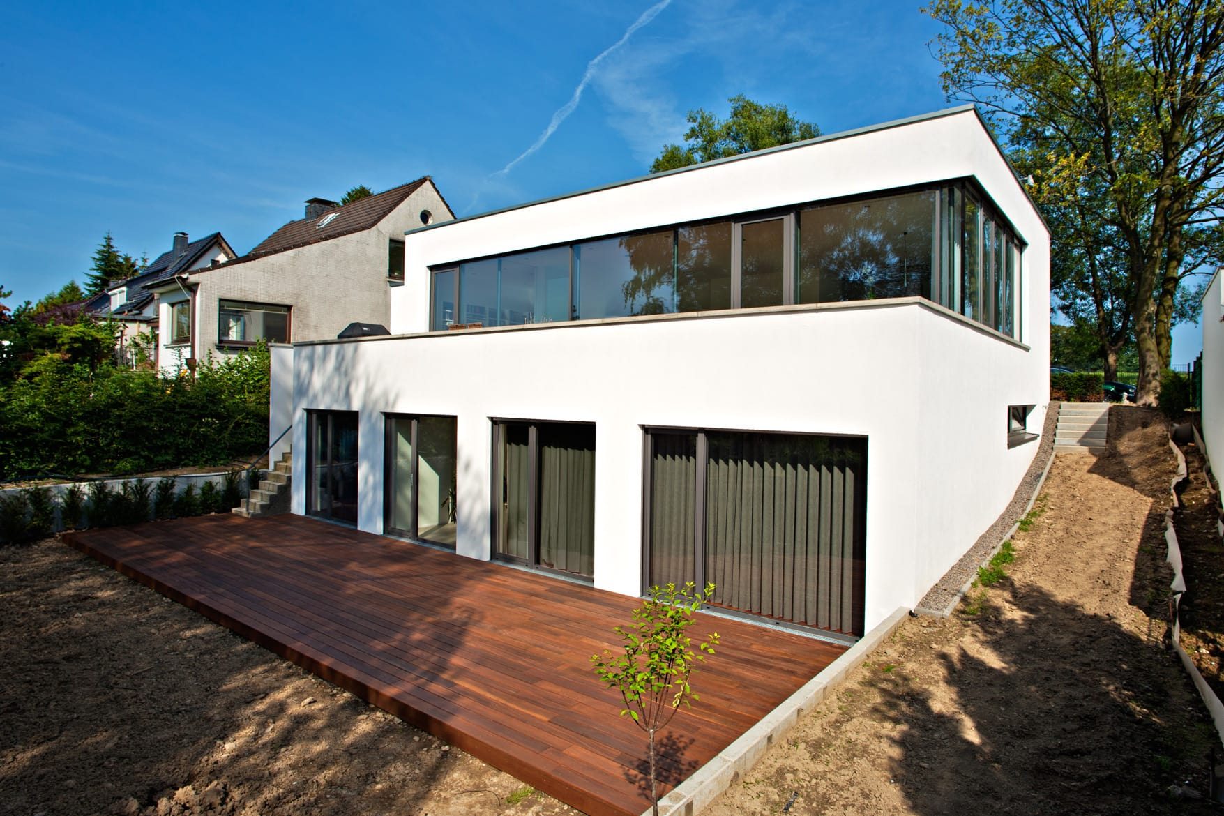 georg d ring architekten d sseldorf einfamilienhaus solingen. Black Bedroom Furniture Sets. Home Design Ideas