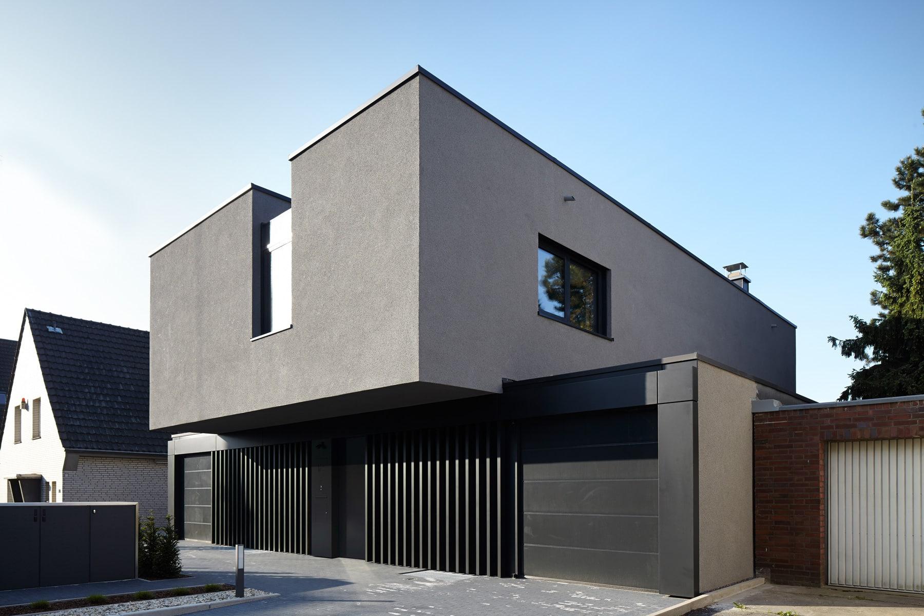 georg d ring architekten d sseldorf einfamilienhaus. Black Bedroom Furniture Sets. Home Design Ideas