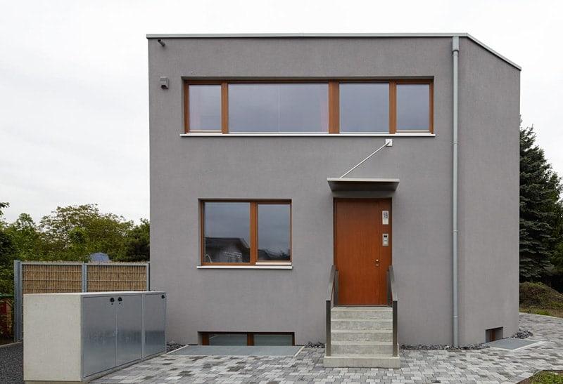 Ansicht Eingang Einfamilienhaus Duisburg